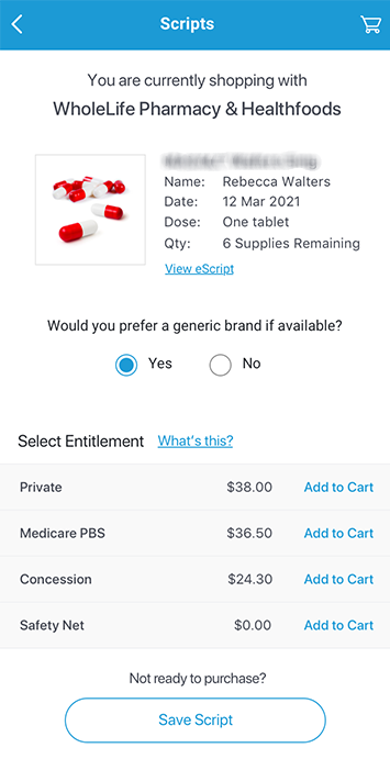 Your medications at<br> the best price.