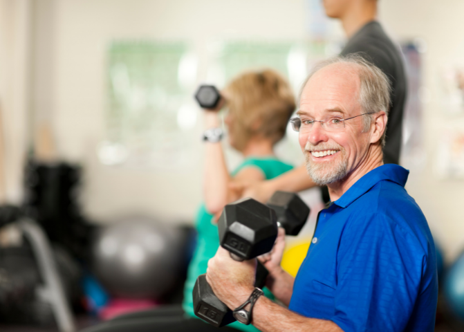 weight lifting in diabetes